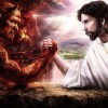 This is the war – the rule of God or the rule of Satan!!