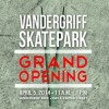 Vandergriff Skatepark Grand Opening Set for April 5